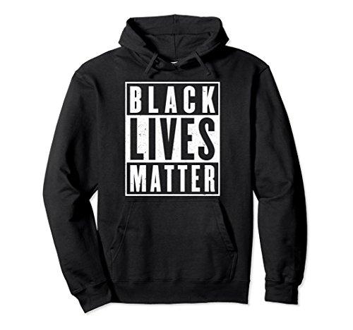 Unisex Black Lives Matter Hoodie African American Gift 2XL Black