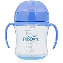 Dr. Brown's Soft-Spout Transition Cup, 6 oz (6m+), Blue, Single