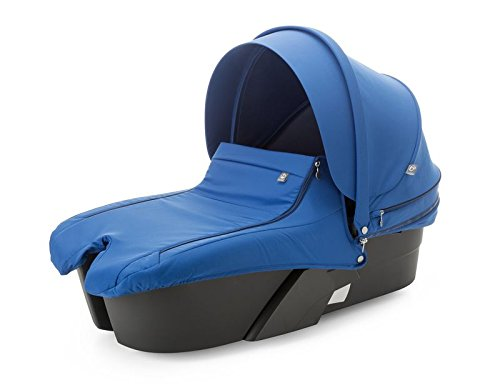 Stokke Xplory Special Edition Cobalt Blue Carry Cot Complete by Stokke