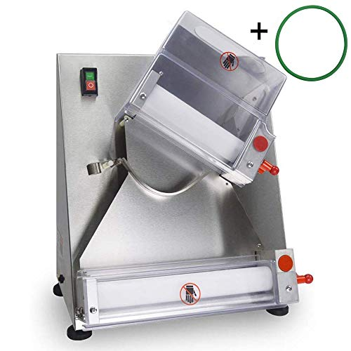 SHANGPEIXUAN Electric Dough Sheeter Automatic Pizza Dough Roller Machine,Making 3