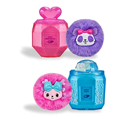 Pikmi Pops Cheeki Puffs - 2-Pack Collectible Scented Shimmer Plush Toy in Perfume