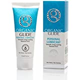 Organic Glide Natural Personal Lubricant, Probiotic Edible Lube. Parabens, Glycerin, Flavorings Free - for Men Women and Coup