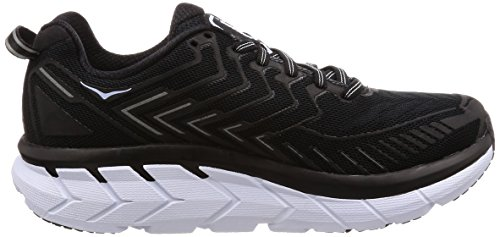HOKA Shoe Clifton ONE ONE 4 Black Running Women's White wxPq6pwg