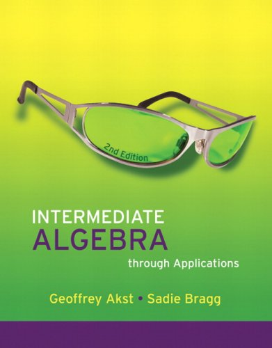 Intermediate Algebra through Applications Value Pack (includes MathXL 12-month Student Access Kit  & Geometry: Funda