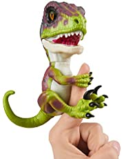 Deal on Untamed Raptor by Fingerlings Interactive Collectible Dinosaur  by WowWee Stealth (Green) Multi-Colored. Discount applied in price displayed.