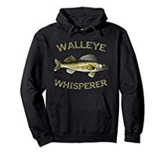 Walleye is a freshwater fish and a very popular target in the midwest states such as Michigan, North Dakota, South Dakota, Ohio, Wisconsin and Minnesota. This walleye hoodie makes a great fishing gift, birthday gift or Christmas gift for a fi...