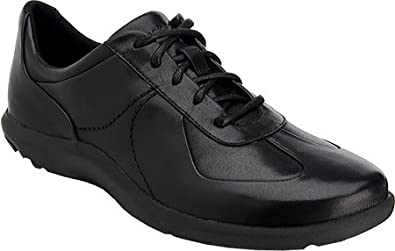 Rockport Women's World Tour Oxford,Black Smooth Leather,US ...