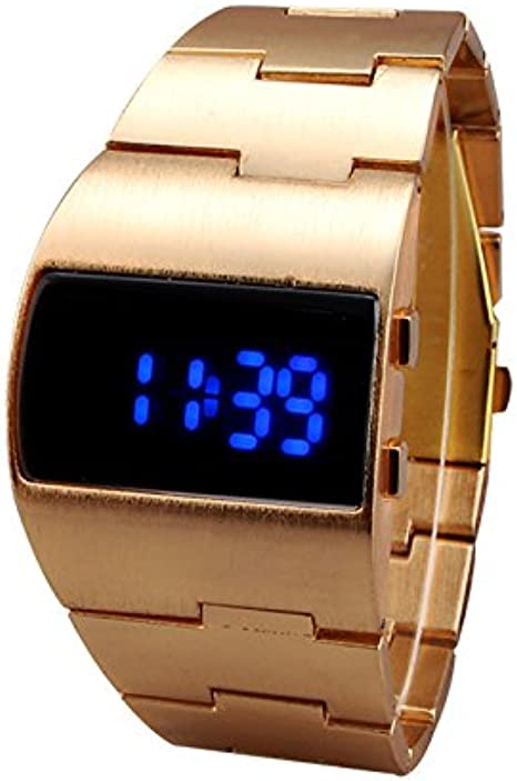 Blue LED Wrist Watch for Men