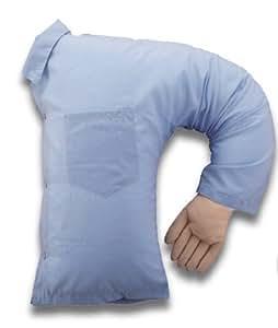 Great Wall - Almohada, diseño de brazo de novio, color azul