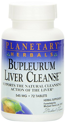 Planetary Herbals Bupleurum Liver Cleanse -- 530 mg - 72 Tablets