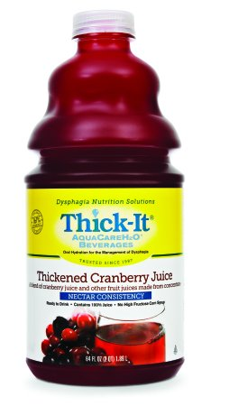 Thickened Cranberry Juice - 6