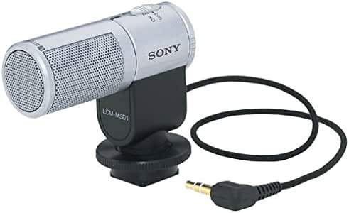 with SDC-26 Case Sony HDR-SR5 Camcorder External Microphone Vidpro XM-AD5 Mini Pre-Amp Smart Mixer with Dual Condenser Microphones for DSLR/'s Video Cameras and Phones