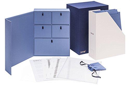 (Wedding Keepsake Box-Valentines Day Gift-Engagement Gift-Personalized Memory Box-Registry Gift-Bridal Keepsake Organizer with Labels - Handmade-Custom-Dyed Cloth-Archival Organizer (Something Blue))