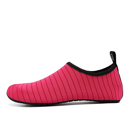 Yoga Beach Socks Kid Barefoot Water Aqua Dry OUYAJI Women's Men's for Shoes Red Shoes Summer Quick Swim qCfRBxwEvn