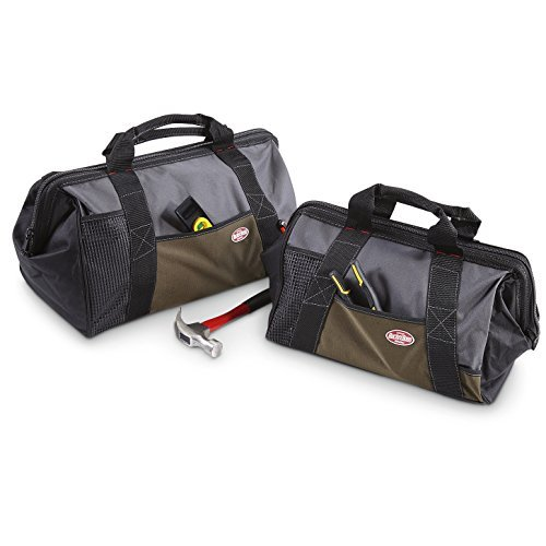 Bucket Boss 720070 Gatemouth Tool Bag Combo 16 and 20