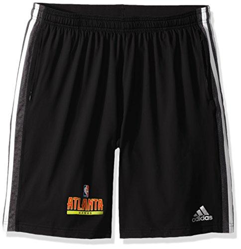 fan products of NBA Atlanta Hawks Adult Men Enough Said Team Issue Short, Large, black