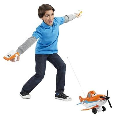 Disney Planes Wing Control Dusty Crophopper Radio Control Plane: Toys & Games