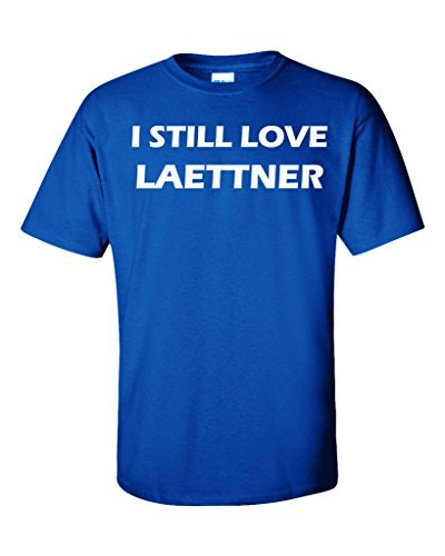 Christian Laettner Kentucky Wildcats I STILL LOVE LAETTNER T-Shirt ADULT 2XL by KING THREADS by KING THREADS