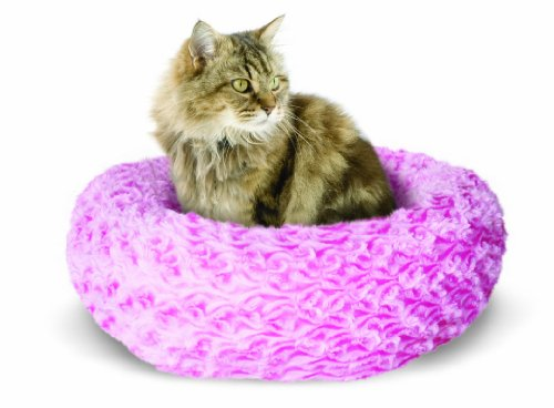 Catit Style Donut Bed, Rosebud, Pink X-Small, My Pet Supplies