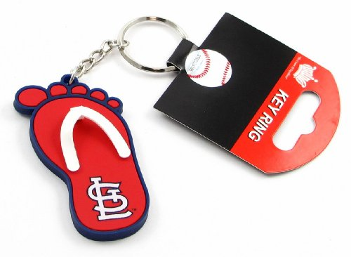 St Louis Cardinals - MLB Flip Flop Key Chain ()