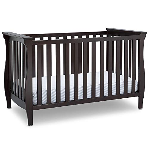 Delta-Children-Lancaster-3-in-1-Convertible-Baby-Crib-Dark-Chocolate