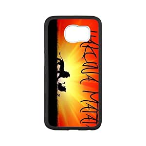 FOR Samsung Galaxy S6 -(DXJ PHONE CASE)-Quotes Hakuna Matata- No Worries -The Lion King-PATTERN 5