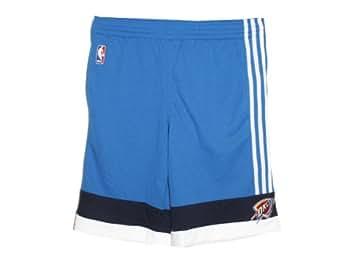 Adidas Oklahoma City Thunder Court Short Blue L Mens Shorts