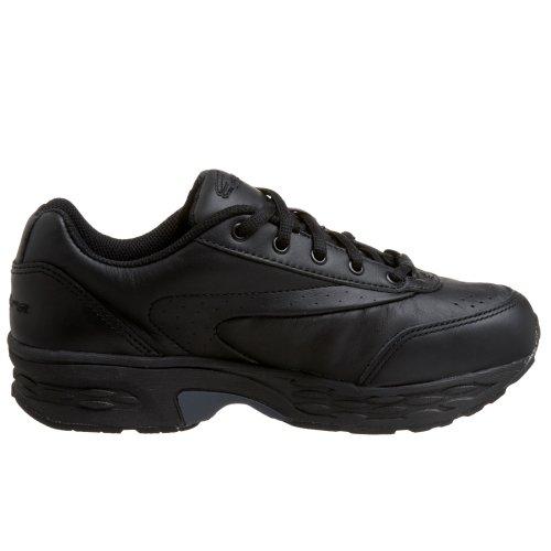 Spira Shoe Leather black Walking Womens Black Classic BxUwr1gqB