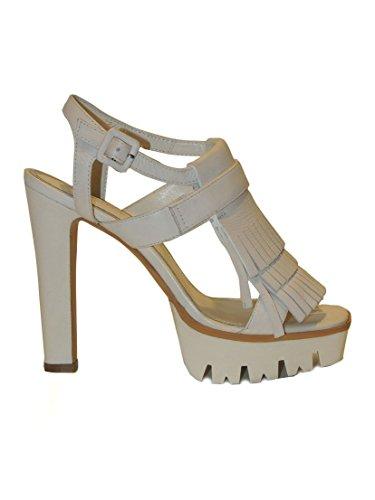 Bruno Premi , Damen T-Spangen Sandalen , weiß - weiß - Größe: 39 EU:  Amazon.de: Schuhe & Handtaschen