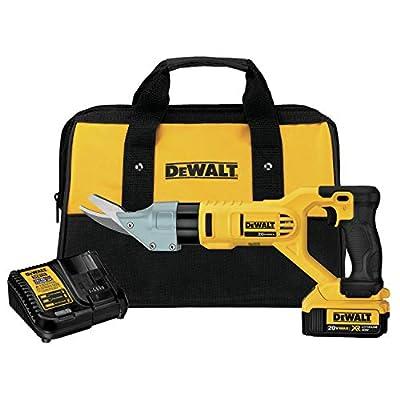 DEWALT DCS498M1 20V MAX Cordless Fiber Cement Shears Kit