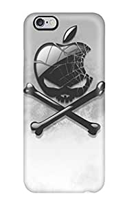 Awesome Case Cover/iphone 6 Plus Defender Case Cover(apple Skull)