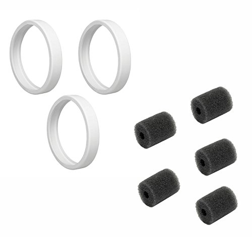 Tire and Tail Scrubber 8 Piece Kit for Polaris 180, 280, ...