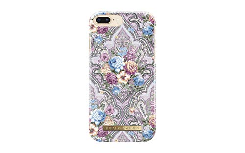 iDeal Of Sweden Fashion Case for Apple iPhone 6S Plus / 7 Plus / 8 Plus (Microfiber Lining, Qi Wireless Charging Compatible) (Romantic Paisley)