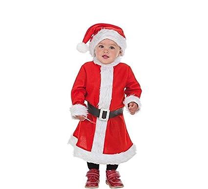 LLOPIS - Disfraz Infantil mamá Noel t-1: Amazon.es: Juguetes y juegos