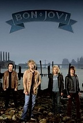 BON JOVI POSTER - HARBOR GROUP SHOT - NEW HOT 24X36