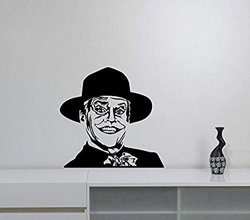 A Good Decals USA Jack Nicholson The Joker Wall Art Decal Movie Superhero Sticker Decorations for Home Kids Living Room Bedroom Dorm Decor jkr3