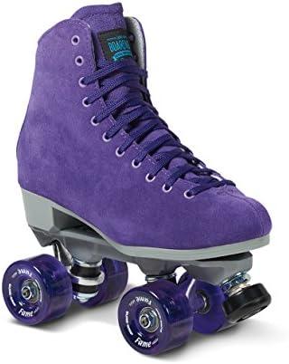 Sure-Grip Purple Boardwalk Skates Indoor