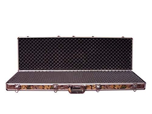 - Double Rifle Camo Aluminum Gun Case - Best Camouflage Case - Key & Combo Option!