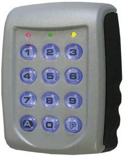 ACIE Talos - Teclado con código para control de acceso (2 relés, metal)