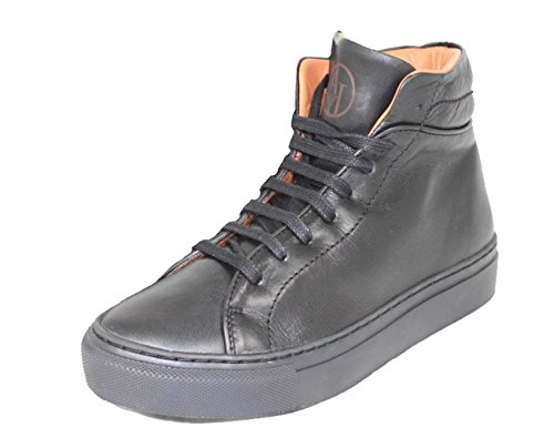 Armani Jeans Damenschuhe Shoe Sneaker Z55B7 Schwarz