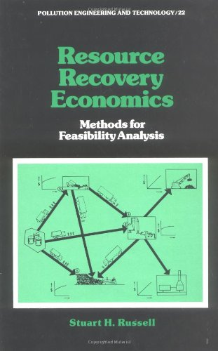 Resource Recovery Economics: Methods for Feasibility Analysis (Pollution Engineering and Technology)
