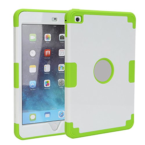 TKOOFN Shockproof Case With Stand For Apple iPad Mini White - 7