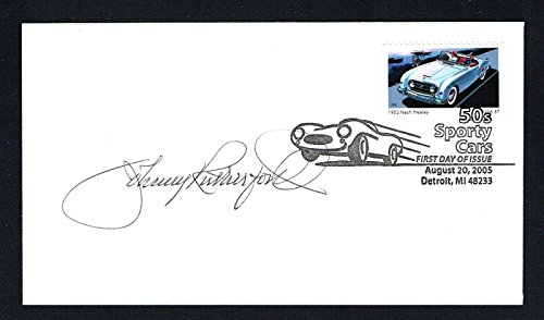 Johnny Rutherford signed autograph First Day Cover FDC Racecar Driver Indy - Day Race 500 Indy