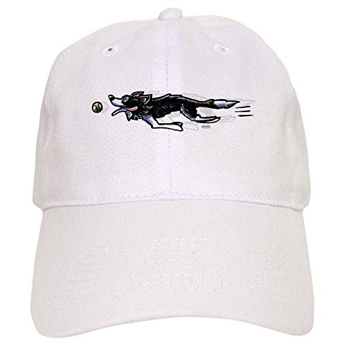 CafePress - Border Collie Action Baseball - Baseball Cap Adjustable Closure, Unique Printed Baseball Hat