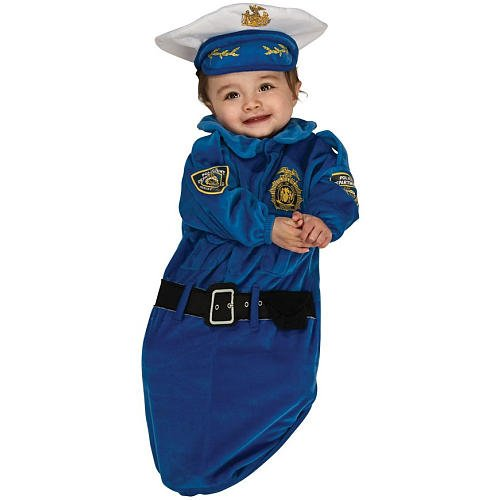 Rubie's Costume 885685 Co Police Officer Baby Bunting Costume