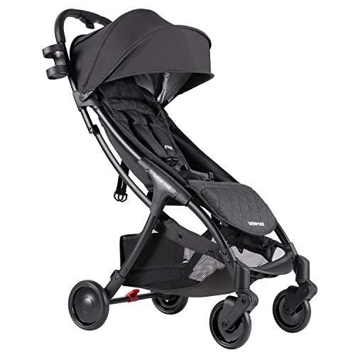 Beberoad-Baby-Stroller-2020-R2-Ultra-Lightweight-Stroller-Newborn-Stroller-with-UPF-50-Waterproof-Canopy-Fits-0-36-Months45Lbs-Black