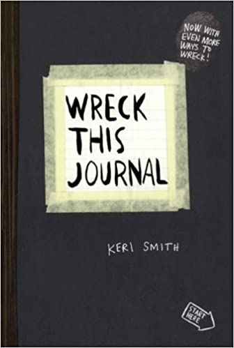 wreck this journal turtleback school library binding edition