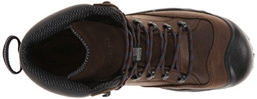 Scherp Nut Heren Braddock Mid Al Wp M Werk Boot, Bizons / Vaandrig Blauw, 9 2e Ons