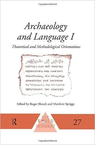 Amazoncom Archaeology And Language I Theoretical And - World no 1 language