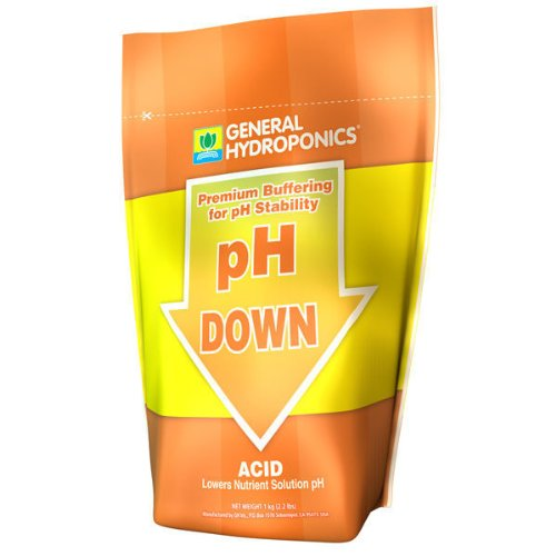 2 2 lbs  - pH Down - Dry pH Reducer - Phosphoric Acid - General Hydroponics  GH1535